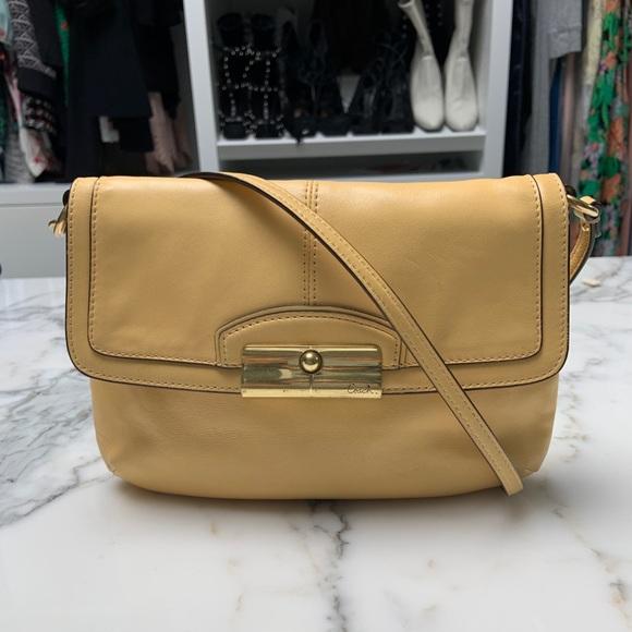 Coach Yellow Crossbody Bag